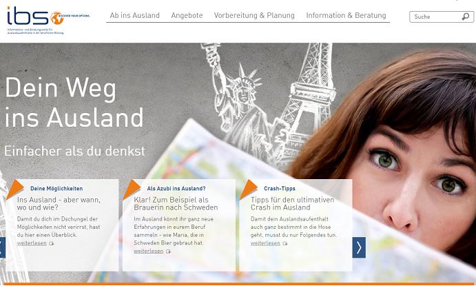 Homepage von www.go-ibs.de